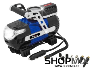 Kompresor 12V HIGH POWER se světlem