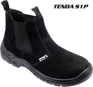 Boty pracovní kotníkové TENDA vel. 39 d073681db5